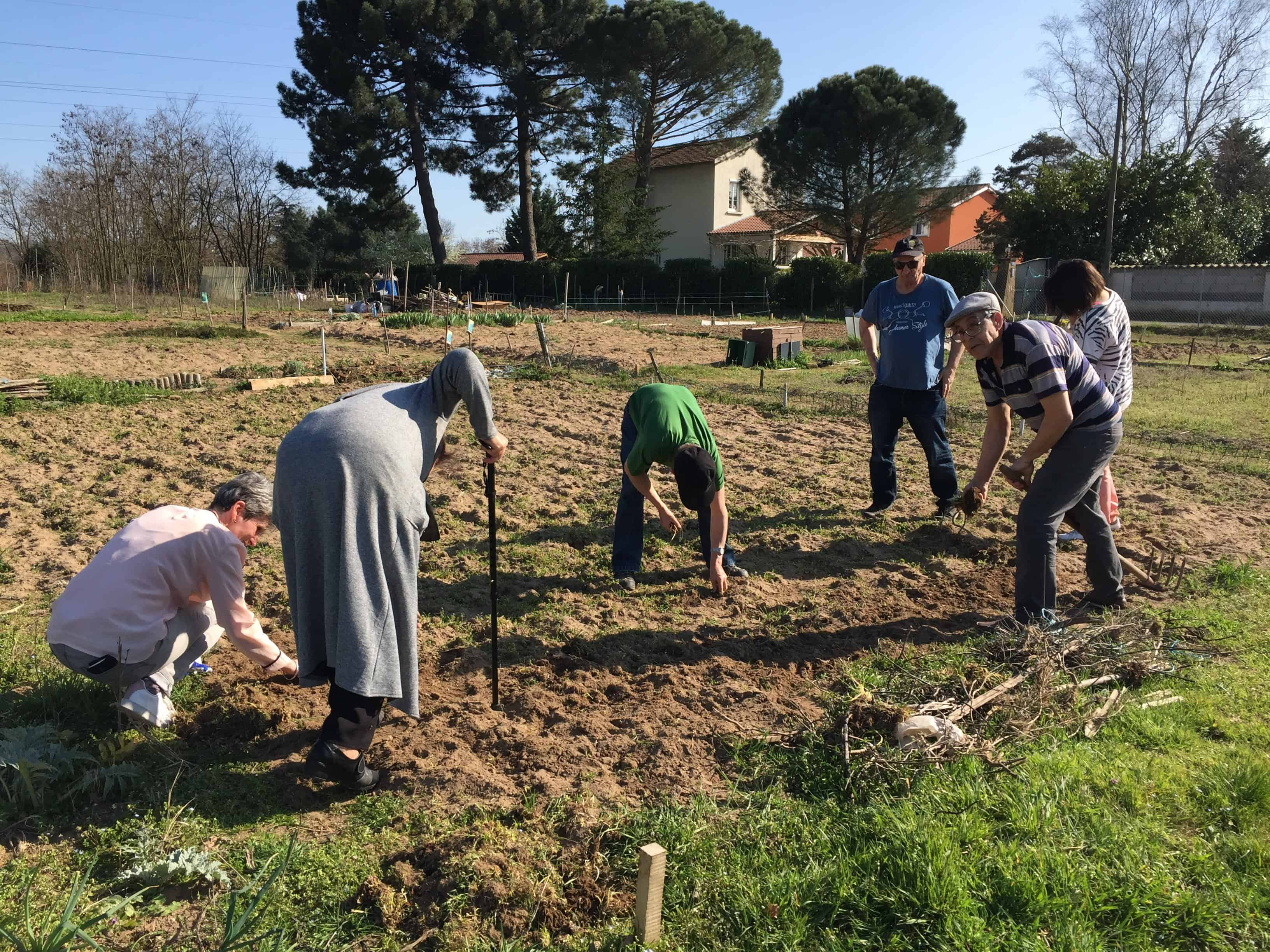 FOYER LES REMPARTS - jardins collectifs 2019